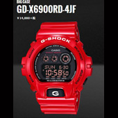 CASIO G-SHOCK カラーテーマシリーズ Buming Red GW-6900RD-4JF