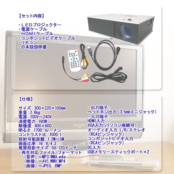 LED Projector FF-5547